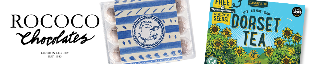 Savour the Seaside this Easter with Rococo and Dorset Tea™