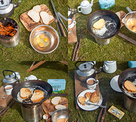 Easy Eggy Bread - Camping Food Recipe image