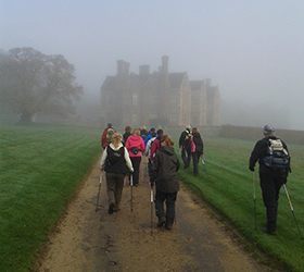 Nordic walking in Dorset image